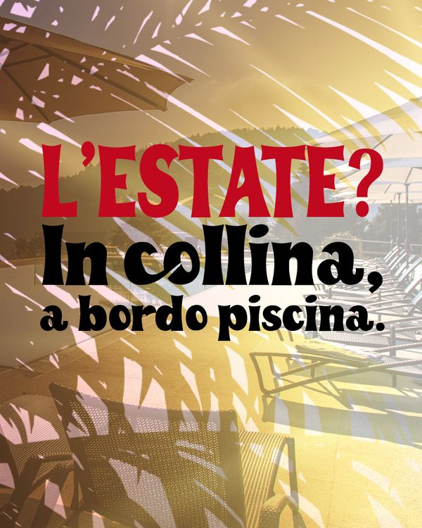 estate in collina 0