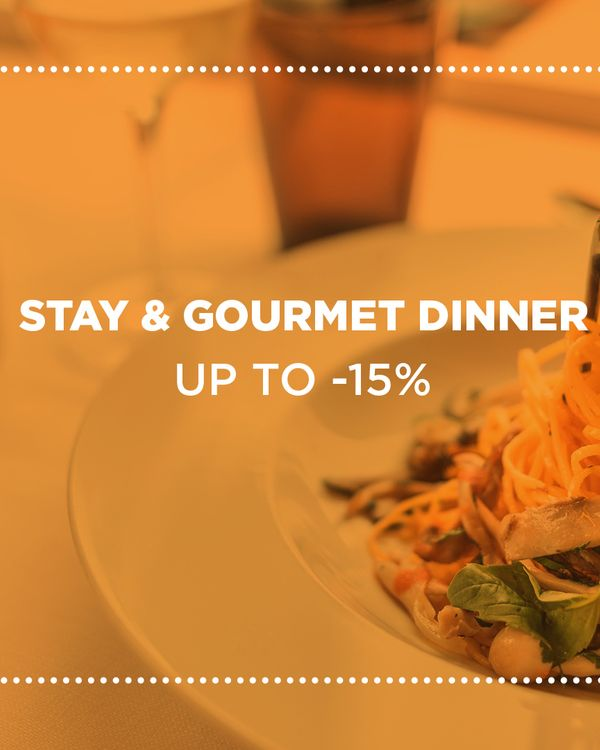 Stay and gourmet dinner 1